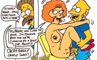 simpsons havin sex