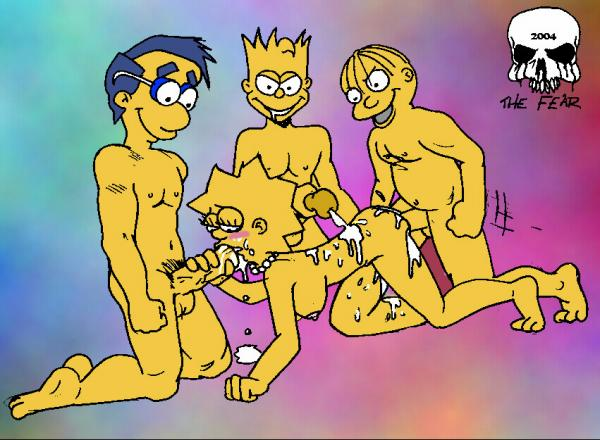 Lisa Simpson Cartoon Sex