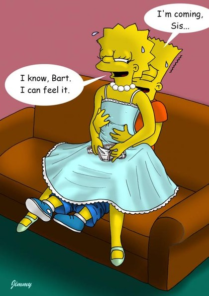 lisa and bart simpson fuck so often that they can do it fully clothed